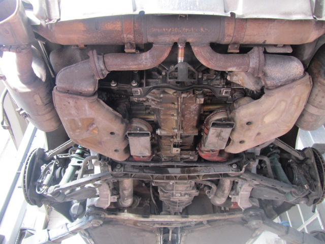 Unterboden Trockeneisstrahlen (Porsche 993)